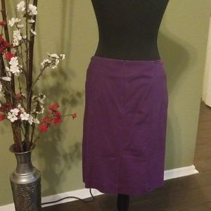 Premise Skirts - ❤Purple pencil skirt
